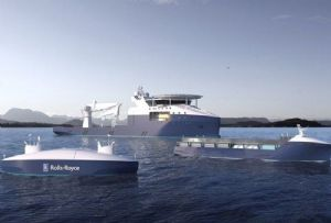 image: Norway Kongsberg Rolls Royce Commercial marine technology autonomous vessels