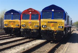 image: DB Cargo UK Maritime Transport intermodal freight logistics road haulage rail train terminal