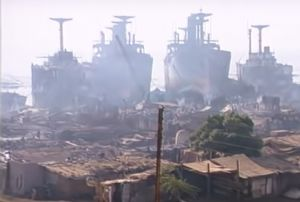 image: NGO ship breaking hazardous Bangladesh India Pakistan Maersk Alang beaches tankers container vessels cruise ships