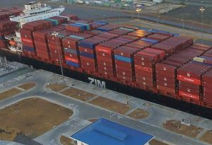 image: MSC Maersk ZIM line container slot exchange vessel sharing
