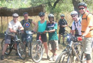 image: Africa Malawi cycle challenge freight logistics transport bike Transaid charity ride
