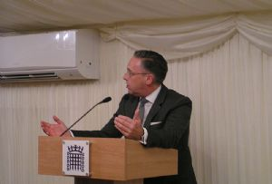 image: UK road haulage freight logistics Sir Michael Penning MP skills staff shortage RHA APPG