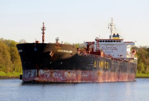 image: US Italian polluting shipping company d�Amico Shipping Italia million dollar fines marine pollution Newark Bay