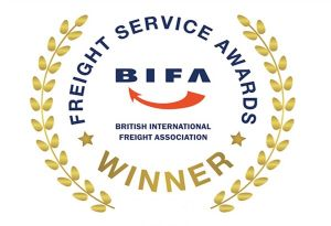 image: UK BIFA Awards 2019 Kelly Holmes Freight apprentice of the Year