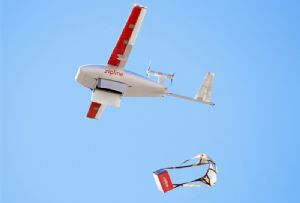 image: Ghana Rwanda drone supplies logistics freight parcel delivery UPS Zipline vaccine medical emergency aid