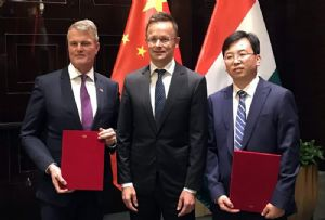 image: Hungary China Belt and Road cargo air freight MoU