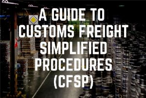 image: UK John Good shipping and forwarding freight CFSP Customs simplified procedures import Brexit