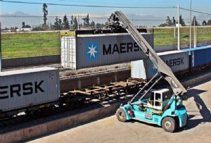 image: Denmark APM Terminals Inland Services AP Moller-Maersk container freight logistics