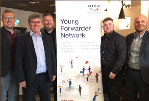image: UK BIFA freight forwarding youngsters network road haulage logistics