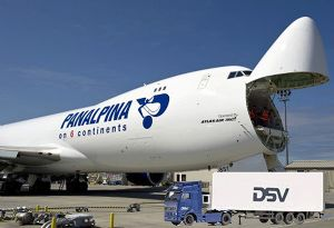 image: Switzerland freight forwarding agency Panalpina global logistics forwarder road haulage ocean Denmark DSV