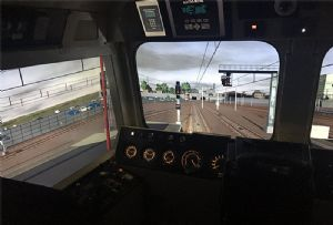image: UK GBRf rail freight maritime simulators driver training logistics