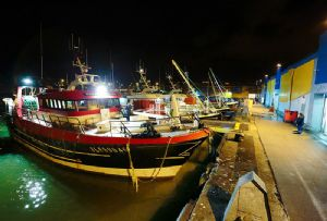 image: France ISO Port Boulogne Calais DNV-GL fishing multimodal RoRo shipment