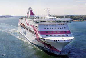 image: Estonia Tallink Silja Cargo freight passenger RoRo smart deck solutions