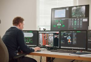 image: Norway ships engine room on land electric RoRo ferries DNV GL