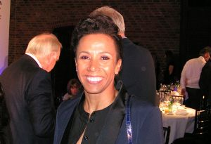 image: UK British International Freight Awards Dame Kelly Holmes logistics