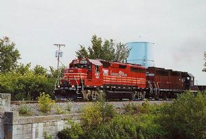image: US Ohio Rail Development Commission freight railroad IORY of Genesee & Wyoming Inc