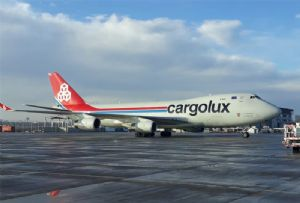 image: Chile Cargolux airline air freight only cargo to Santiago de Chile