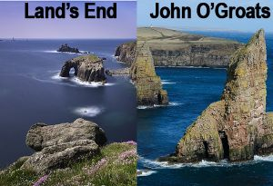 image: UK Transaid on yer bike Land�s End John O�Groats cycle charity ride logistics