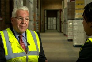 image: UKWA Peter Ward CEO warehousing Brexit no deal logistics stockpiling inventory