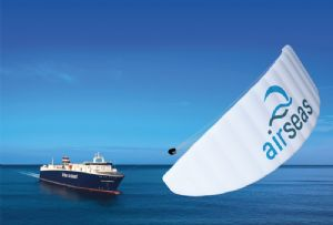 image: France kite sail technology RoRo vessel LDS Louis Dreyfus Airbus environmental conservationist decarbonisation fuel costs