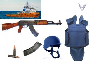 image: Sri Lanka Ukraine weapons seizure Advanfort Seaman Guard Ohio Avante Garde