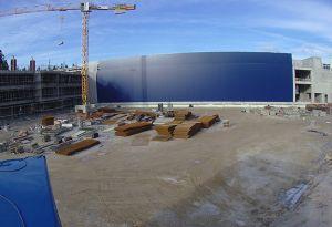image: Slovenia cargo-partner logistics freight hub facility Ljubljana airport Castle