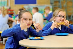 image: UK China Hungary freight logistics snippets of news shipping kids breakfast club Greggs
