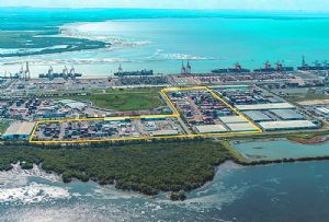 image: Australia logistics lease port of Brisbane Fisherman Islands