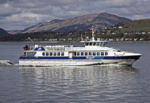 image: UK island ferry freight passenger CalMac RMT union