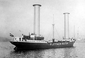 image: US wind power flettner American Bureau of Shipping (ABS) merchant ships Marin