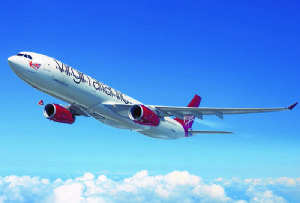 image: UK Israel Virgin Atlantic Cargo tonnes air freight cargo services capacity WTA Aviation Swissport