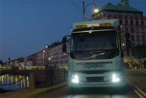image: Sweden Korea Volvo cars trucks electric battery electromobility