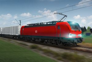image: Germany Europe DB Cargo rail freight multisystem locomotives Siemens Mobility