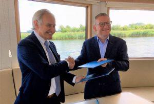image: Belgium freight forwarding Ekol Logistics RoRo multimodal terminal rail