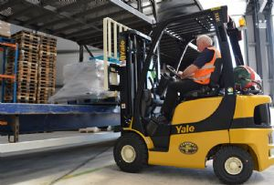 image: UK fork lift truck training safety materials handling