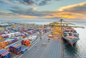 image: Australia DP World container terminal port logistics Gateway Infrastructure Investments fund Corsair Capital partners