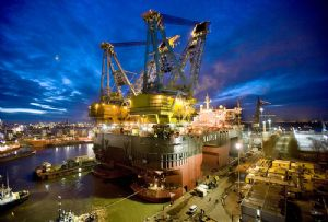image: Norway Italy hull inspection technology Saipem DNV GL 3D twin digital monitoring crane and pipe laying vessels