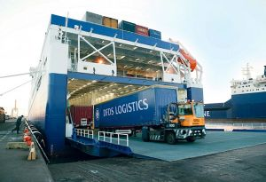 image: UK Port of Felixstowe DFDS ferry freight RoRo investment