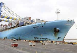 image: Maersk Denmark freight logistics container shipping UK government maritime 2006
