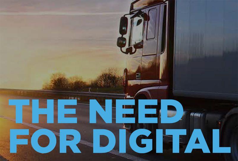 image: UK, Mandata, digitalisation, road, haulage, logistics, vehicle, fleet,