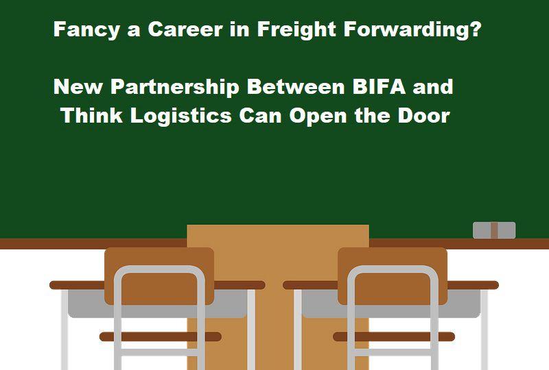 image: UK, BIFA, Think, Logistics, freight, forwarding, Youth, career,