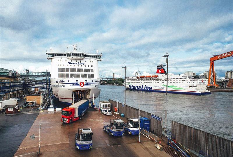 image: Sweden artificial intelligence AI Stena Line Semcon freight passenger ferry