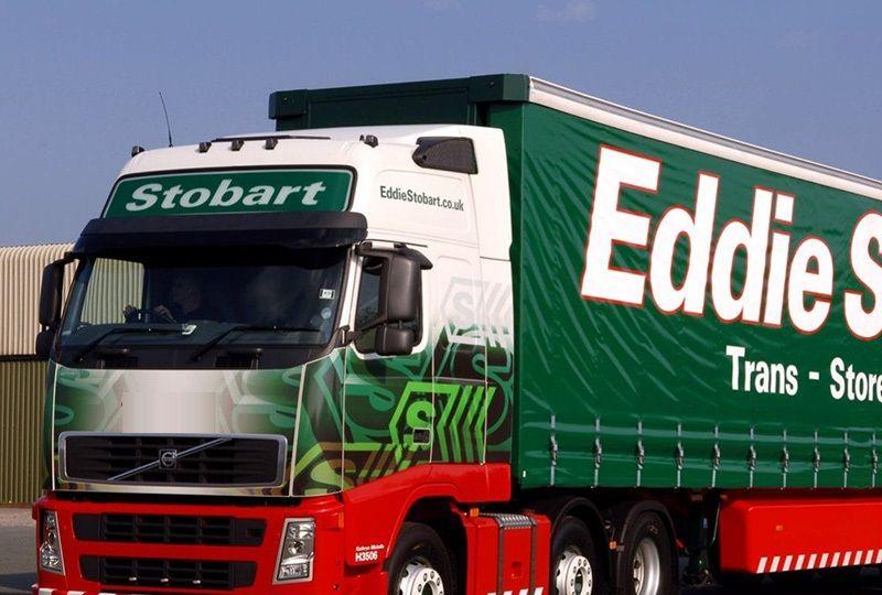 image: UK Eddie Stobart logistics DBAY air freight Tinkler