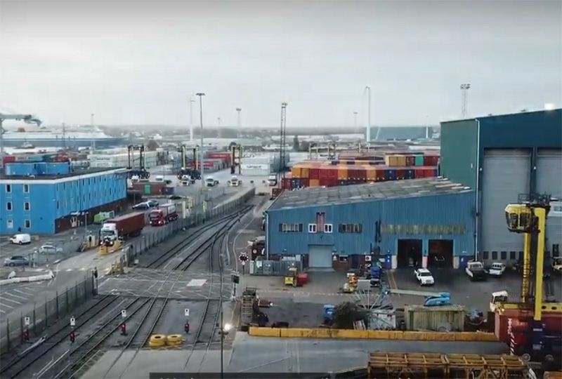 image: HS2, UK, high speed, rail, trucks, logistics, freight, Port of Tilbury, environmentalists,