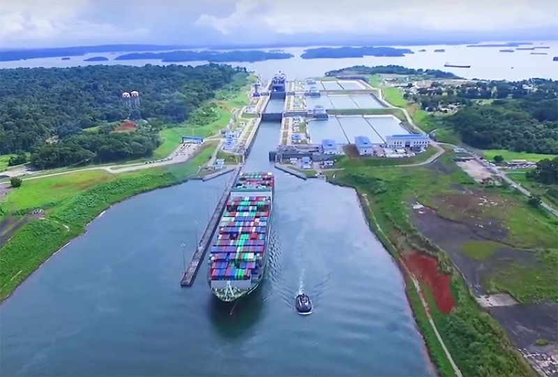 image: Panama Canal tons Universal Measurement System (PC/UMS) container LNG tonnages Neopanamax