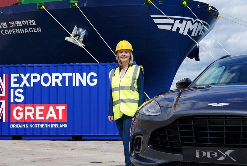 image: UK, Liz Truss, Aston Martin, export, DBX, US, Trade, Tariff, talks, leaked, Brexit, letter,