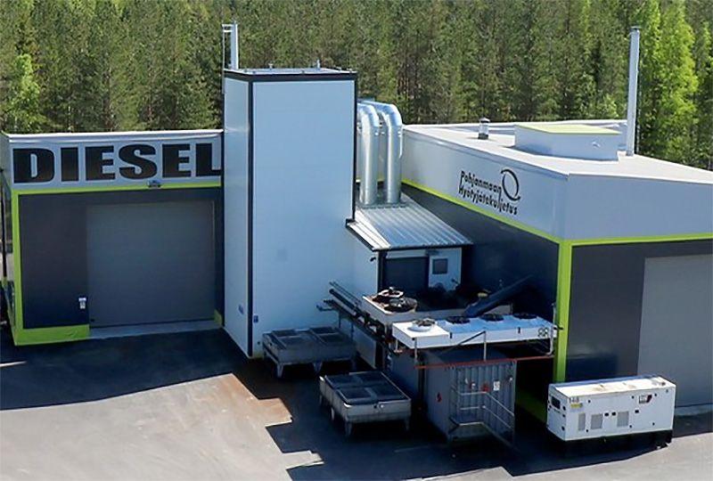 image: Finland biomass waste plastic fuel oil diesel marine heavy equipment
