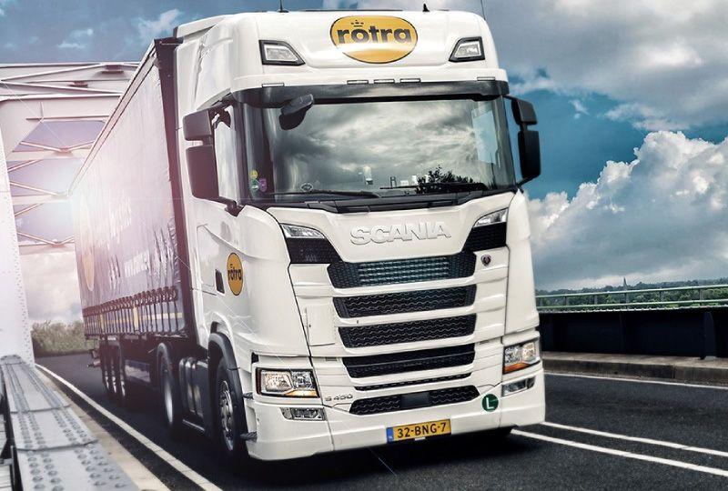 image: Netherlands European Road Freight Network Kuehne + Nagel Rotra logistics forwarder