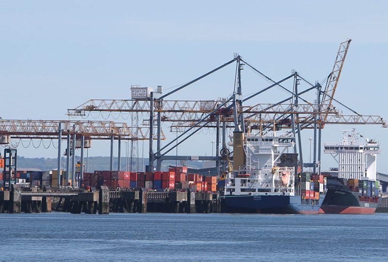 image: UK Freight Transport Logistics Association Northern Ireland Covid-19 lockdown EU brexit