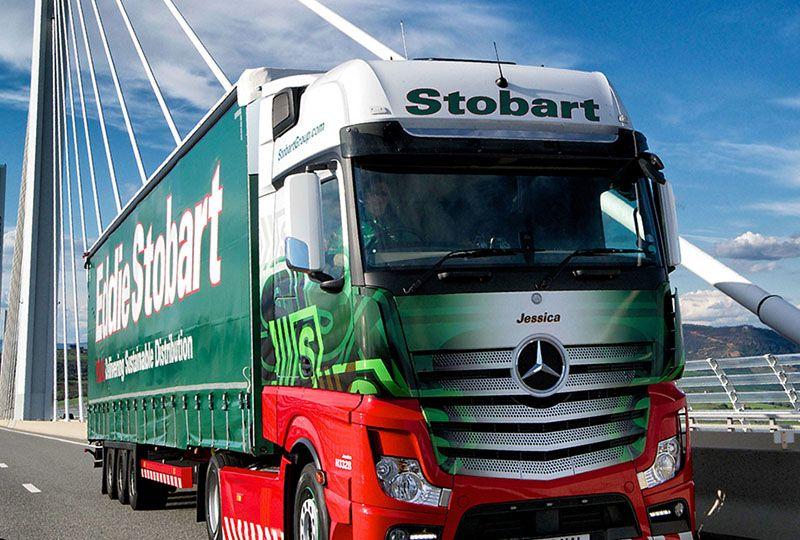 image: UK Eddie Stobart logistics freight road haulage simmering row Andrew Tinkler
